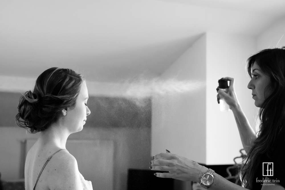 Photgraphe Frédéric Trin/Coiffeuse Angéla Hair stylist