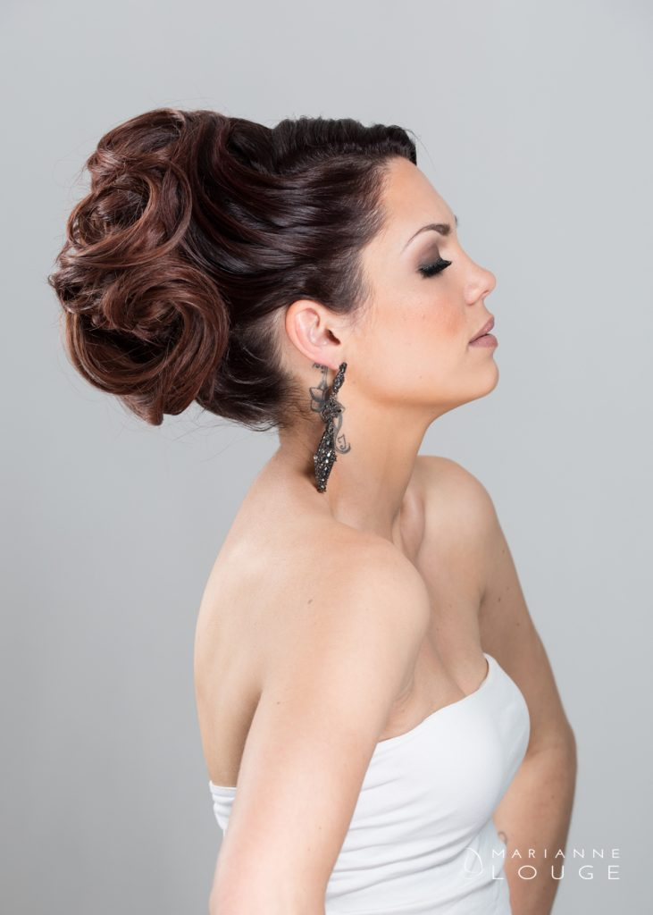 Angéla Hair stylist/ Photographe Marianne Louge/ Modèle Loryne
