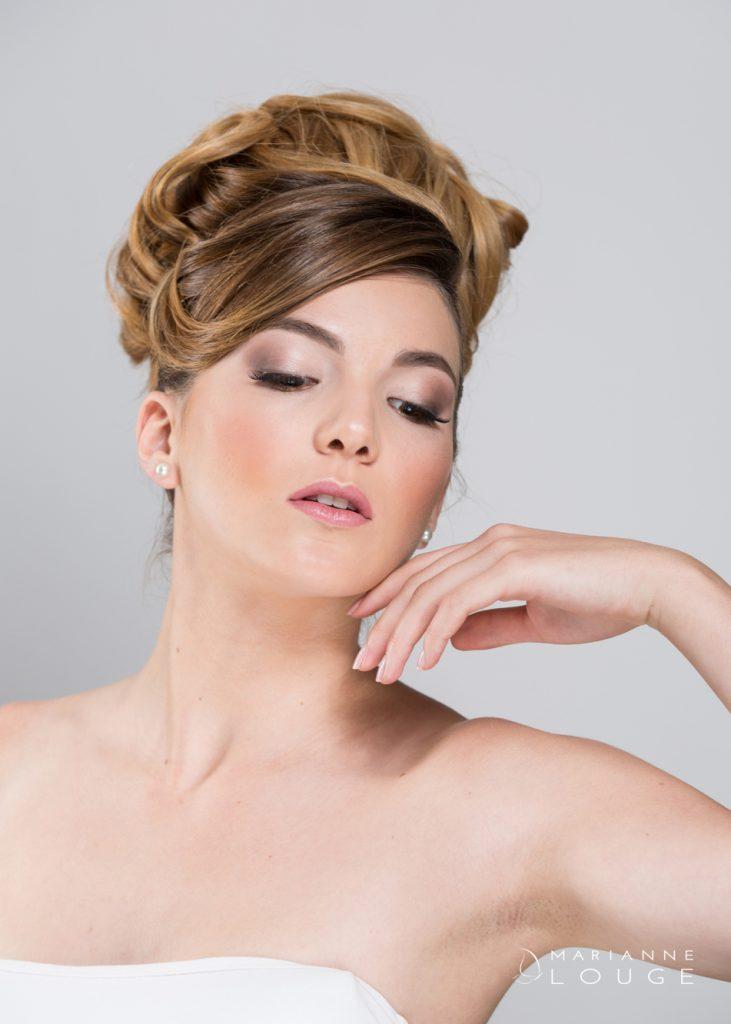 Angéla Hair stylist/ Photographe Marianne Louge /Modèle Estelle