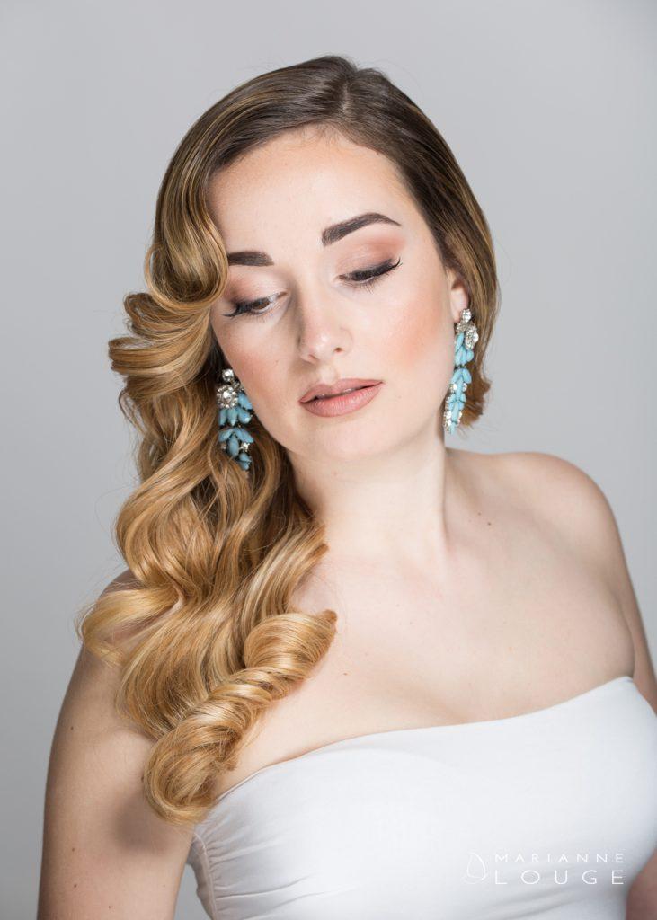 Angéla Hair stylist/ Photographe Marianne Louge / Modèle Roselys