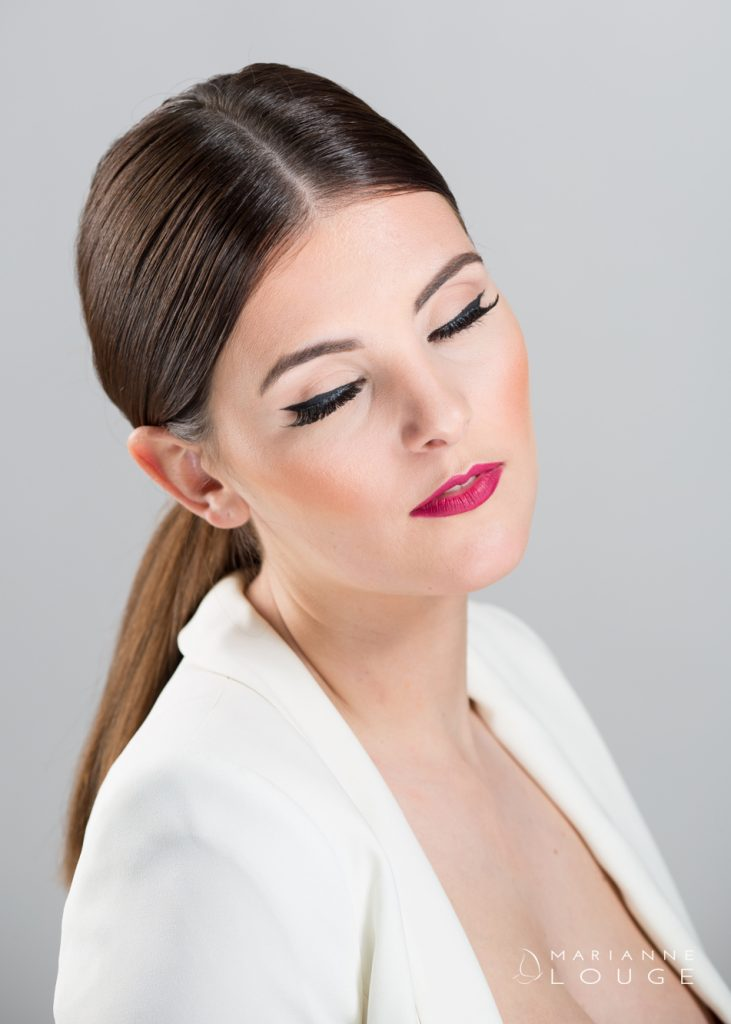 Angéla Hair stylist/ Photographe Marianne Louge / Modèle Laura