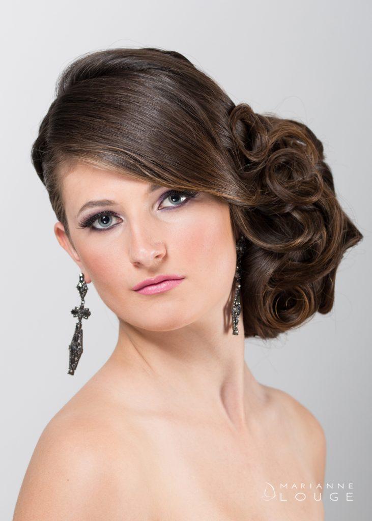 Angéla Hair stylist/ Photographe Marianne Louge / Modèle Léa