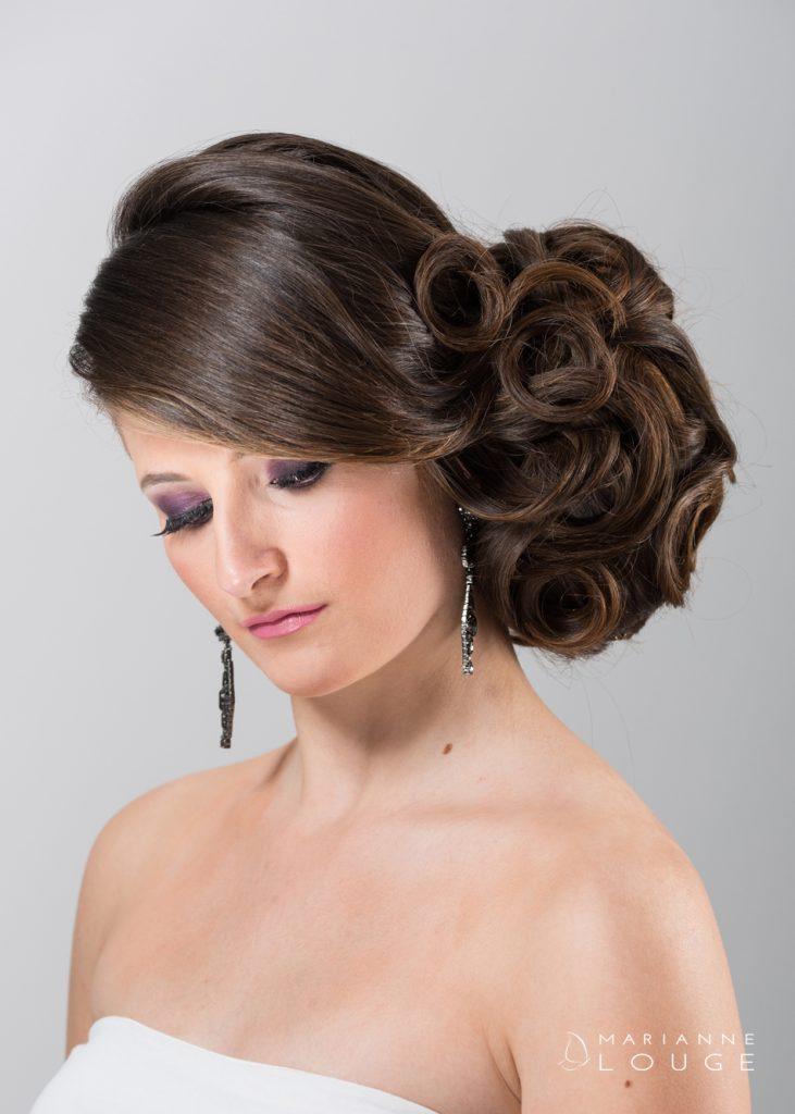 Angéla Hair stylist/ Photographe Marianne Louge/ Modèle Léa