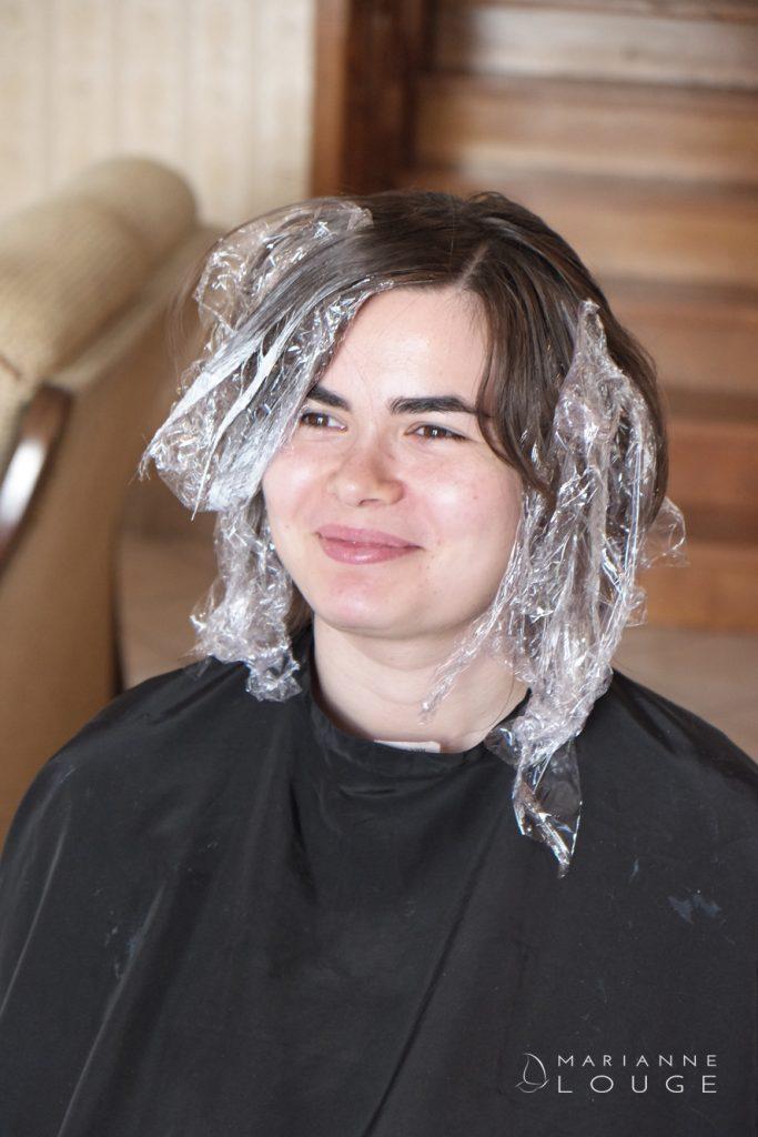 Angéla Hair stylist / Photographe Marianne Louge/ Cheap & Class/ Cooa/Modèle Sophia